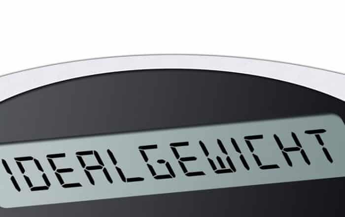 Abnehmrechner - schnell zum Idealgewicht