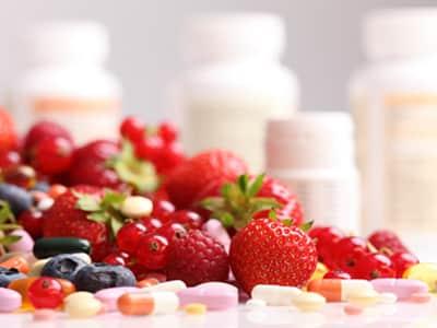 Vitamine und Mineralstoffe bei der Stoffwechselkur