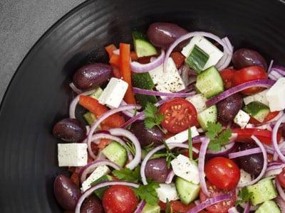 Griechischer Salat Rezept Stoffwechselkur
