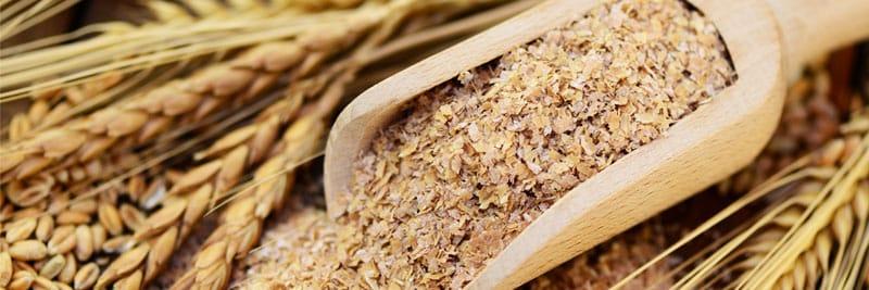 Mithilfe von Weizenkleie schneller abnehmen