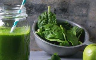 Grüne Smoothies mit dem Hochleistungsmixer und zum Abnehmen