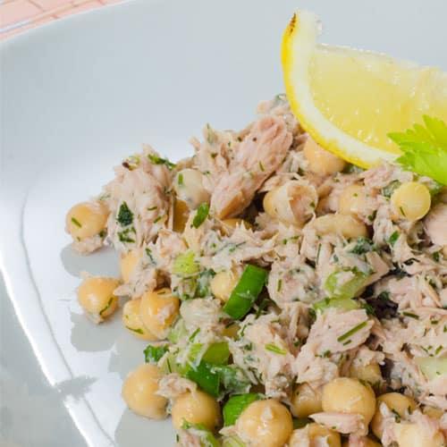 Kichererbsensalat mit Thunfisch Rezept