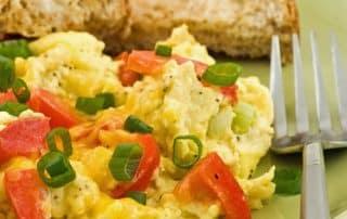 Paprika-Rührei Frühstück Rezept zur Stoffwechselkur