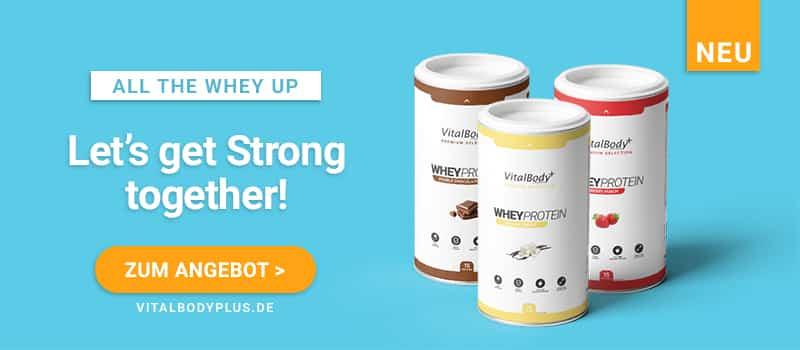 Wheyprotein von der VitalBodyPLUS Stoffwechselkur