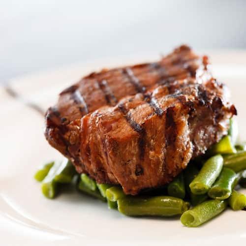 Stoffwechselkur Rezept Grüne Bohnen mit Roastbeef