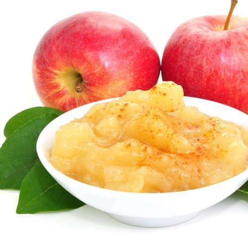 Apfelmus mit Hüttenkäse Rezept Stoffwechselkur