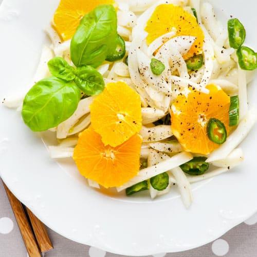 Fenchelsalat mit Orangen - Rezept zur Stoffwechselkur