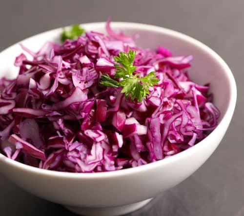 Rotkohlsalat zur Stoffwechselkur - Rezept