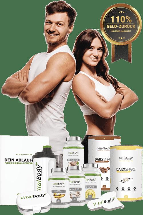 Traumgewicht mit VitalBodyPLUS Stoffwechselkur