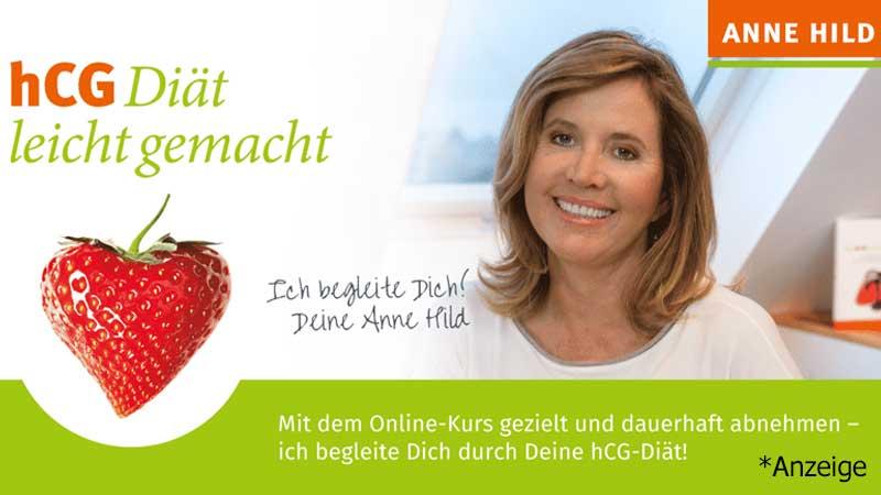 hCG Diät Anne Hild Online Programm