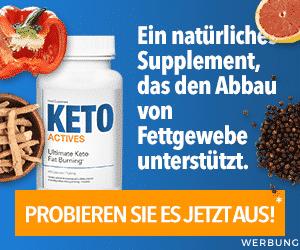 Keto Actives Werbung
