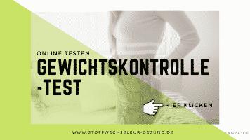 Lykon Gewichtskontrolle-Test