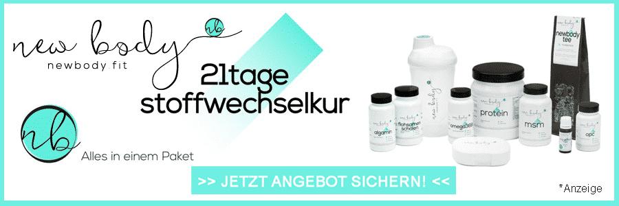 NewBody.fit Stoffwechselkur 21 Tage