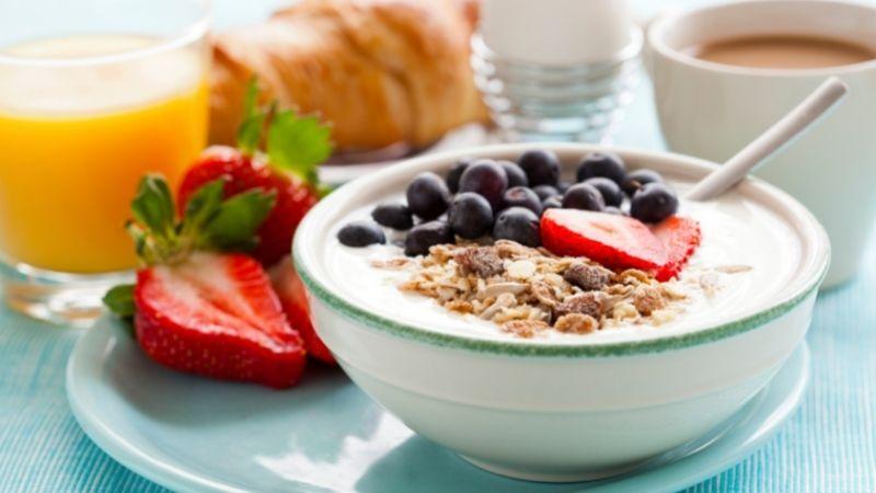 Stoffwechselkur Frühstück Beispieltag