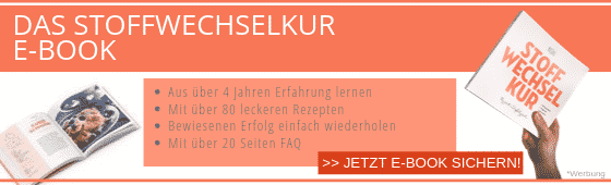 Stoffwechselkur E-Book Rezepte