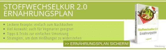 Stoffwechselkur Ernährungsplan 2.0