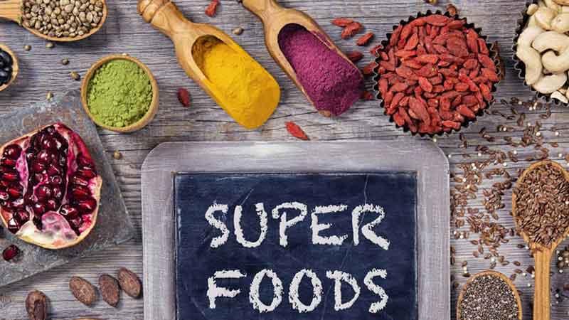Superfoods zum Abnehmen